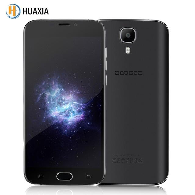 Original Doogee X9 Mini 5.0 inch 1GB RAM 8GB ROM MT6580 Quad Core Android 6.0 3G WCDMA Smartphone 2000mAh 5MP Mobile Cell Phone