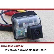 Для Mazda 6 мазда6 M6 2002~ 2013 камера заднего вида Автомобильная камера заднего вида HD CCD авторегистратор ночного видения