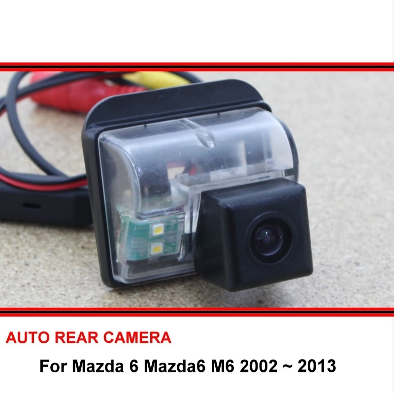 For Mazda 6 Mazda6 M6 2002 ~ 2013 Rear View Camera Reversing Camera Car Back Up Camera HD CCD Night Vision Vehicle Cam