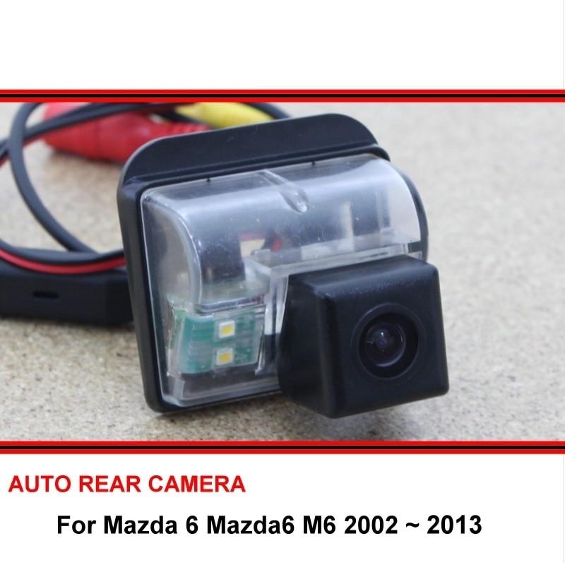 For Mazda 6 Mazda6 M6 2002 ~ 2013 Rear View Camera Reversing Camera Car Back Up Camera HD CCD Night Vision Vehicle Cam
