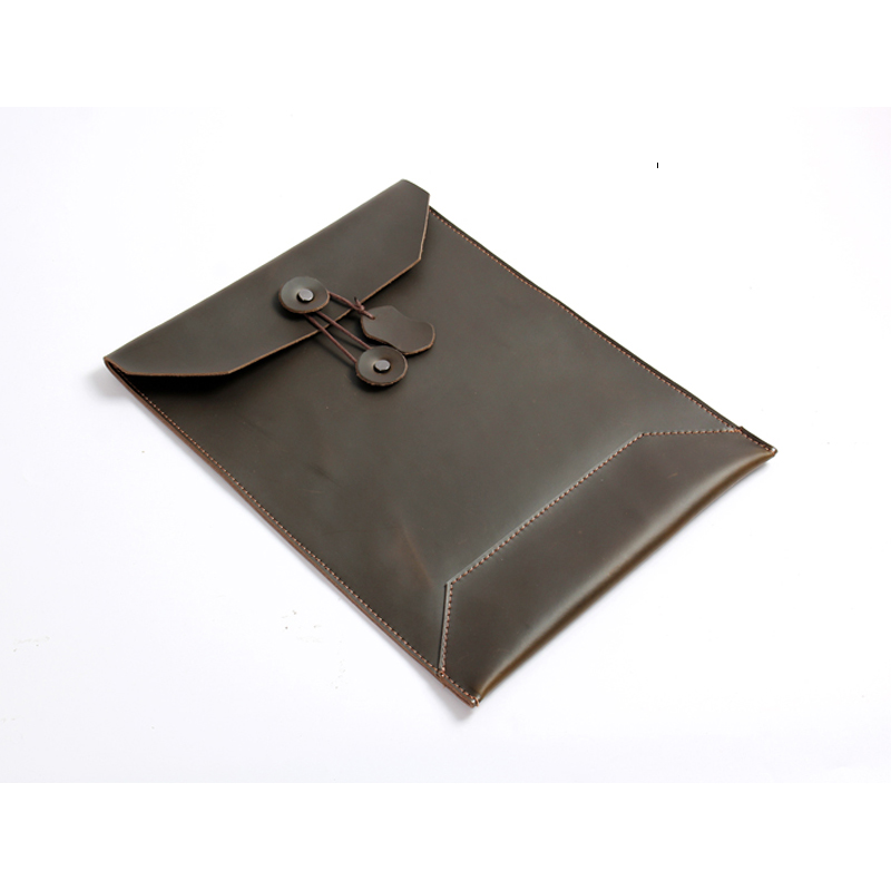 Leather Folder Document Bag Holder For File Portadocumenti Carpeta De Documentos Office Supplies A4 Bag