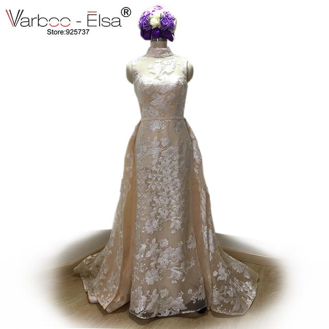 Real Photos Luxury Sequined Lace Evening Dresses Halter Hand Pleated Custom Made Vestido De Festa 2018 from Yousef Aljasmi