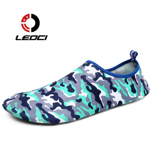 Swim Shoes Aqua Water Shoes Slip On Breathable Beach Shoes Outdoor Barefoot Shoes For Women Men