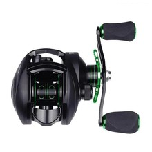 LINNHUE Baitcasting Reel 7.0:1 Gear Ratio 7.7kg Max Drag 7 Bearings Dual Brake Ultralight Carbon Fiber Fishing