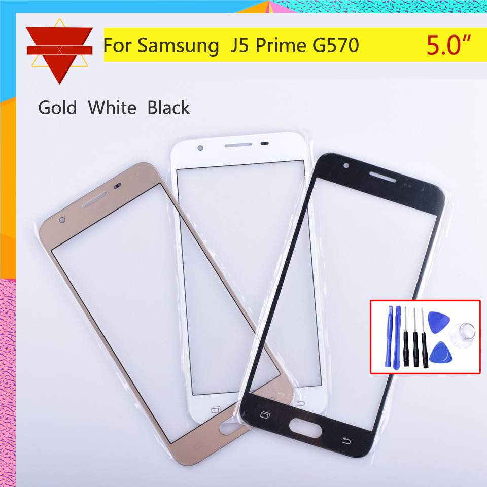 Screen For Samsung Galaxy J5 Prime G570 G570F Outer Glass Top Front Lens Front Screen Cover