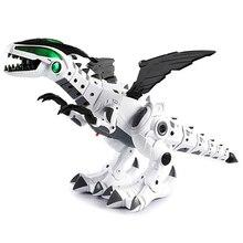 Динозавр игрушки для детей игрушки белый спрей Электрический динозавр механический Птерозавр динозавр игрушка для детей