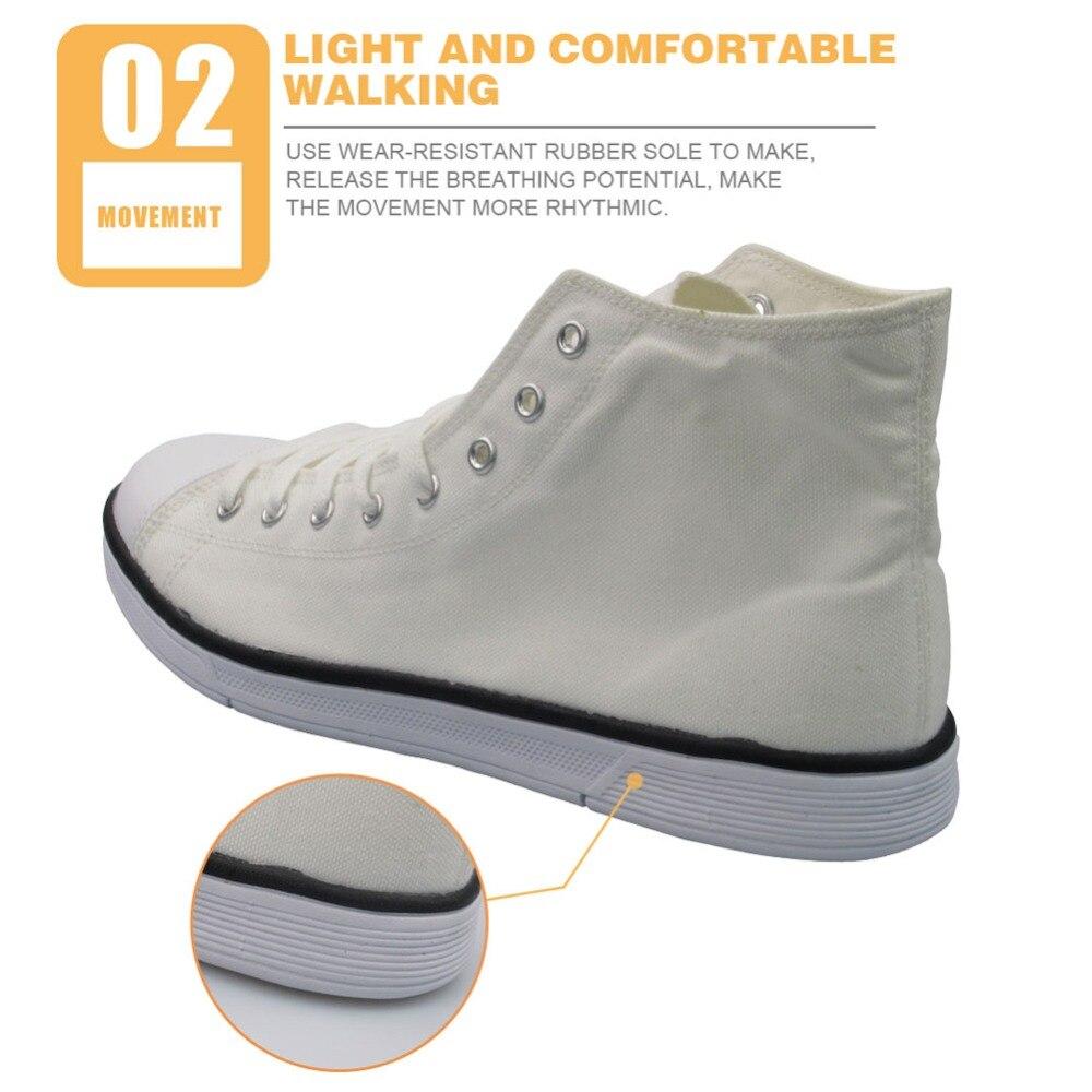 flat canvas shoes