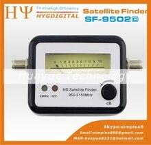 Original señal del buscador de satélite gecen SF-9502 satélite del metro del buscador brújula receptor de señal Finder en el mundo receptor de TV por satélite