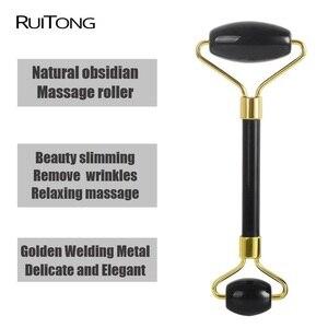 Image 5 - Rouleau de Massage Quartz Rose en cristal naturel, accessoire de Massage pour le visage et le corps, relaxant et mince, Anti rides, vente en gros