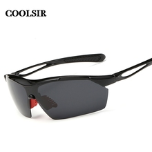 Coolsir Real Hot Sale Adult 2017 Fashion Style Men's Wise Choice Of Outdoor Sports Anti Sandstorm Polarized Sunglasses  P8523