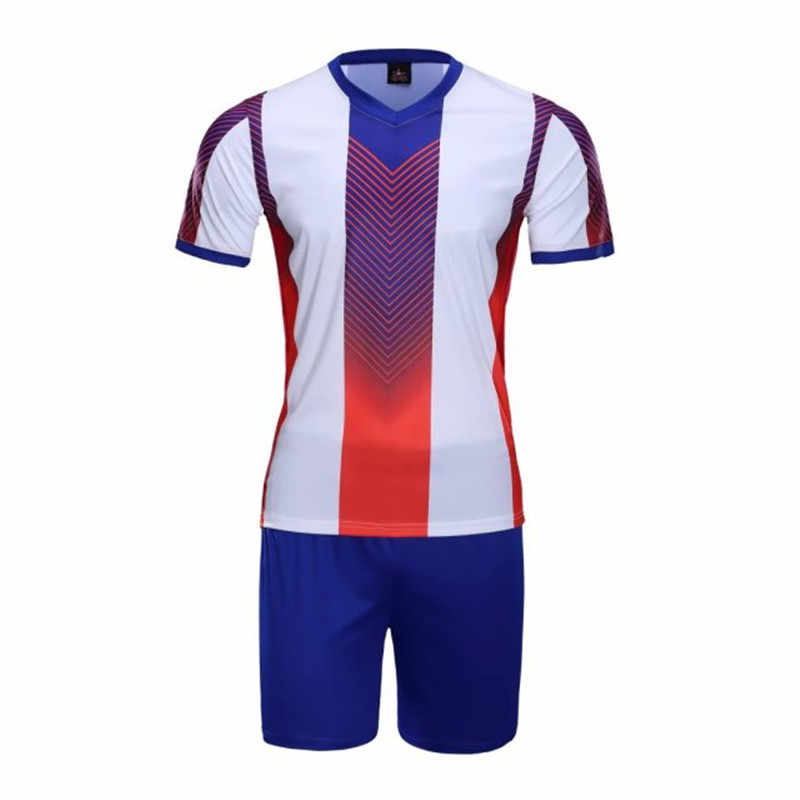 cfe0a5e0b Mens Survetement Tracksuit Football Jersey Men Soccer Jerseys Uniform Set  Suit Clothing Shirts Sport Kit Jerseys
