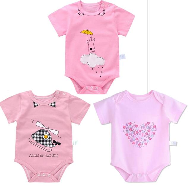 Summer Baby Girl Bodysuit Newborn Infantil Bodysuit Boy Body Girls