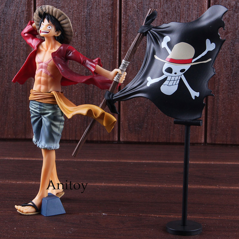 Banpresto <font><b>One</b></font> <font><b>Piece</b></font> Figures Magazine Monkey D.<font><b>Luffy</b></font> PVC <font><b>One</b></font> <font><b>Piece</b></font> <font><b>Luffy</b></font> Action Figure Collectible Model Toy image
