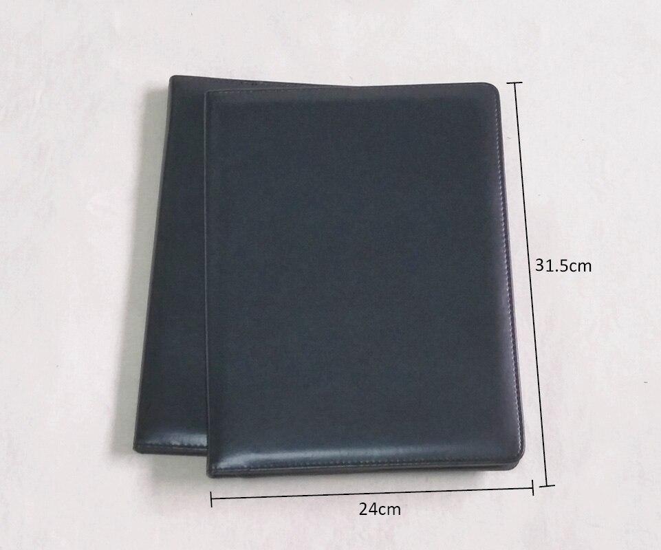 [Livraison gratuite] PU FX89 carte à glissière/porte-stylo poche de fichier gestionnaire de l'entreprise portefeuille d'utilisation de bureau, 1 pc/lot Direct usine
