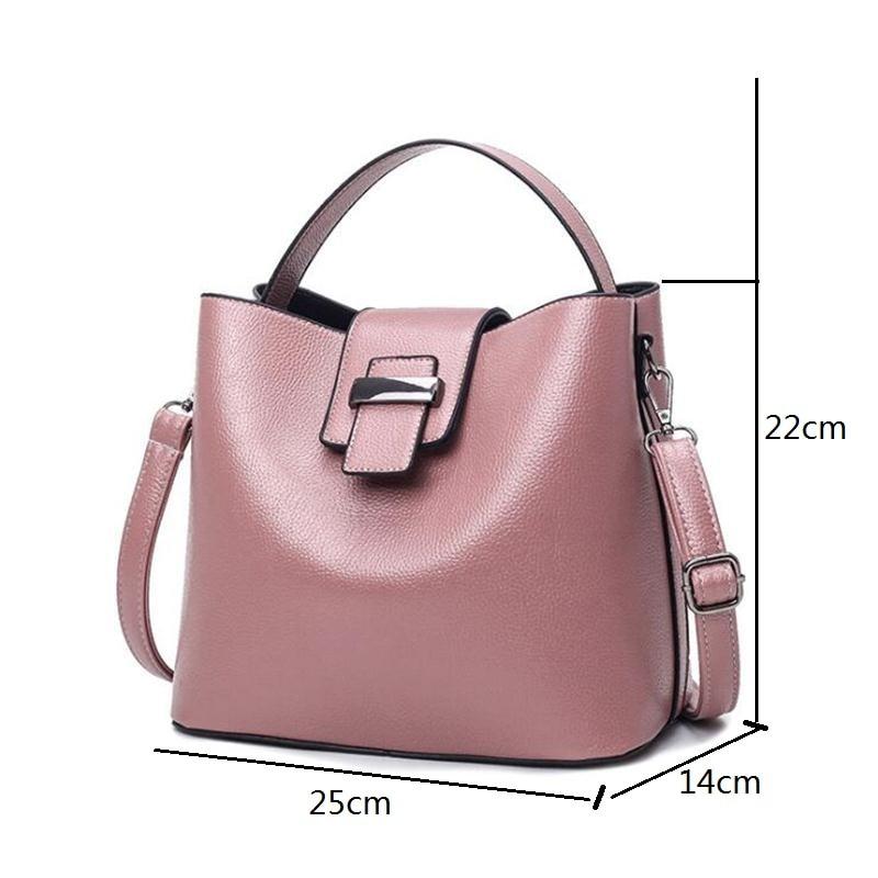 Soft Leather Leisure Ms P U Handbags 2018 Four Seasons Fashion Female Bag Brand Designer Luxury Goods Bolsas In Shoulder Bags From