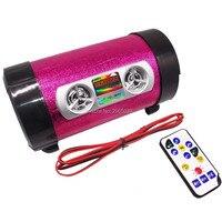 Moto rcycle звук Moto аудио Колонки fm Радио USB карты памяти AUX MP3-плееры стерео Moto сабвуфер Динамик Moto звук для самокат