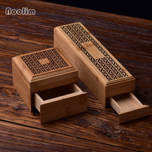 Бамбуковая подставка для ароматических палочек с выдвижным ящиком Joss-stick Box полый ароматерапия Joss-stick Box домашний офис Чайный домик
