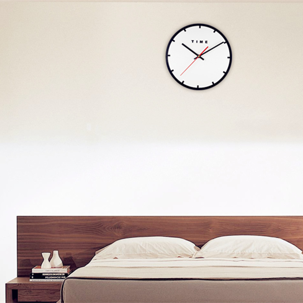 M.Sparkling Acrylic Minimalism Mute Wall Clock for Home Office ...