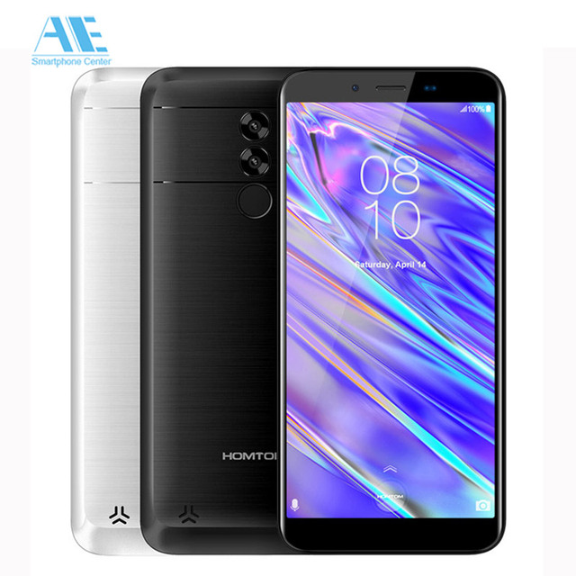 HOMTOM S99i 5.5-Inch 6200mAh 2GB 16GB Smartphone Bezel-less MT6739WW Face ID Cell phone Android 8.1 Fingerprint 4G Mobile Phone