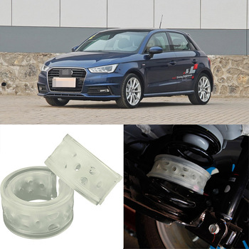 2 uds Super Power trasero coche resorte amortiguador de coche potencia de parachoques amortiguador especial para Audi A1