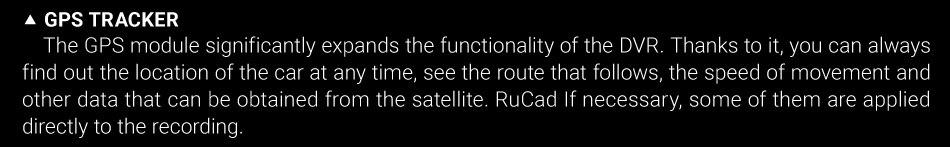 Original Ruccess 3 in 1 Radar Dvr  FHD 1296P Built-in GPS Car Detector Dual lens Car Camera Anti Radar Detector Russian Speedcam 12