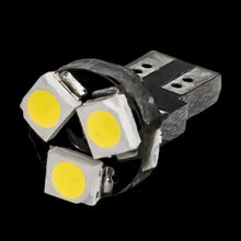 T5 W3W W1.2W 509T 74 79 86 Auto Lamps 3 LED car Dashboard warming indicator Wedge Light Bulb Instrument lights canbus no error(China)