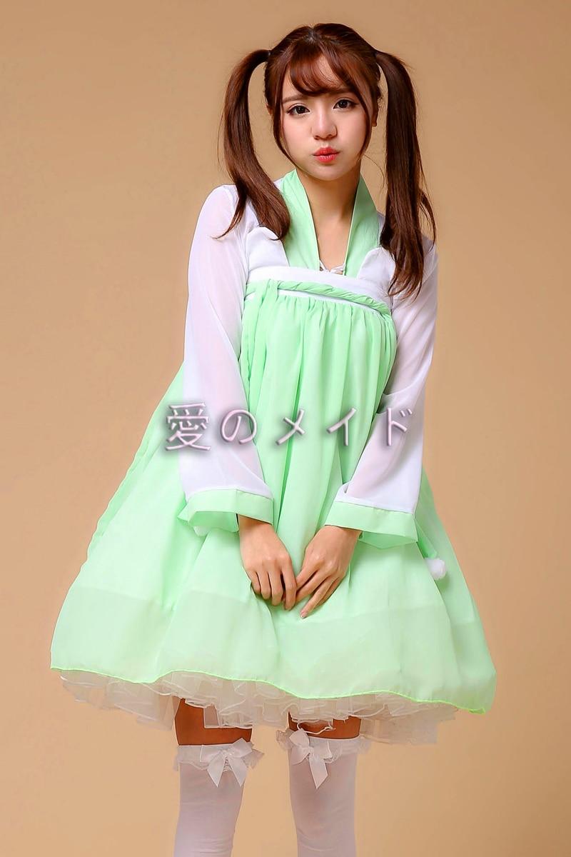 Vintage Women's Chinese Sweat Honey Han Dynasty Daily Dress Fairy Kei Mori Girl