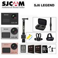 Оригинальный SJCAM sj6 Легенда HD Yi 4 К Wi Fi Action Cam 16mp 2.0 Сенсорный экран шлем CAM Дайвинг 30 м go Pro удаленного Спорт видеокамера