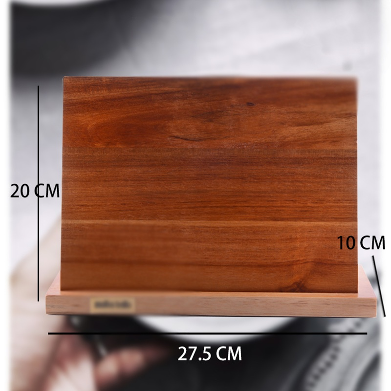 Solid Wood Magnetic Knife Holder Ventilation Drying Knife Storage Block Knife Stand Magnet Kitchen Utensil Cooking Tools 14