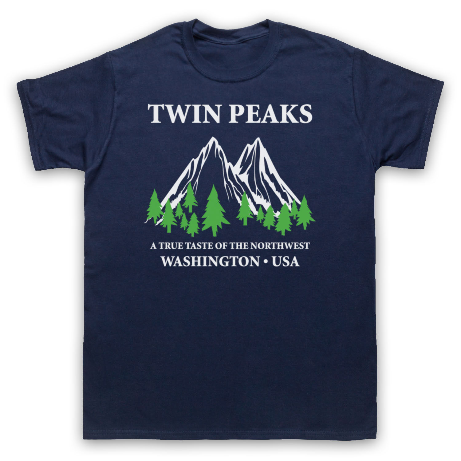 TWIN PEAKS A TRUE TASTE OF THE NORTHWEST UNOFFICIAL T-SHIRT ADULTS & KIDS SIZES