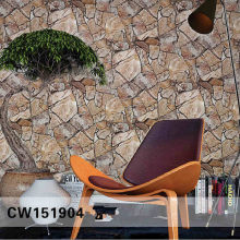3D Rock Stone Wallpaper Waterproof for Background Living Room PVC Wall Paper Roll Stereoscopic Look Wall Papel De Parede(China)