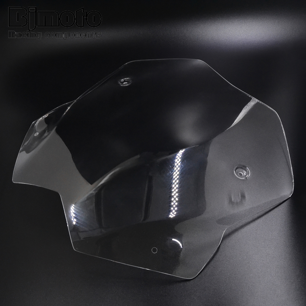 Bjmoto motorcycle TMAX 530 Short Windscreen Windshield Screen Protector For Yamaha Tmax 530 T-MAX530 2012 2013 2014 2015 2016 yomt motorcycle motorbike windshield smoke race screen for yamaha tmax530 2012 2014 2013 12 13 14 windscreen
