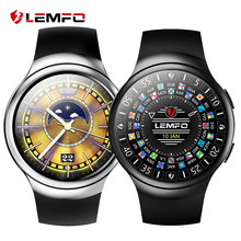Lemfo LES2 Умные Часы SmartWatch android 1 ГБ + 16 ГБ часы телефон Heart Rate Мониторы GPS Wi-Fi Bluetooth наручные часы