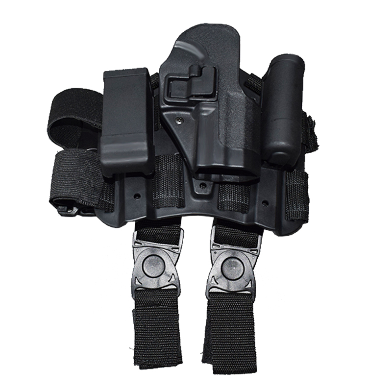 Right Hand Quick Drop Leg Holster For HK USP Compact Gun Military Airsoft Shooting Hunting Pistol Case Thigh Holster in Holsters from Sports Entertainment