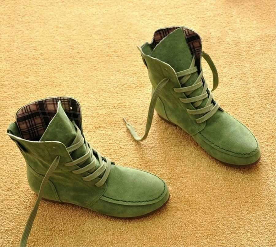 Sonbahar Kış Kadın Çizmeler Mat Akın Çizmeler Kadın Bayanlar Düşük Topuk Ayakkabı Kadın Orta Buzağı Çizmeler artı boyutu ST312