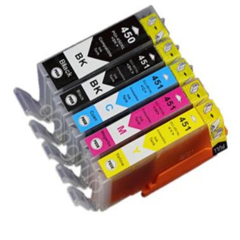 PGI 450 CLI 451 compatible ink cartridge For canon PIXMA MG5440 MG5540 MG5640 MG6440 Ip7240 MX924 IX6540 IX6840 printer