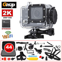 Gitup Git2P WiFi 2K 1080P HD Helmet Dash HDMI USB Action Sports Camera 44Pcs Accessories For