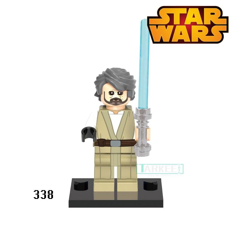 Luke Skywalker Darth Vader Building Blocks Figures XH338 Star Wars Super Heroes Set Model Action Bricks Kids DIY Toys Hobbies free shipping replacement projector lamp rlc 018 for viewsonic pj506d pj556d
