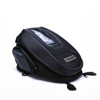 Motorbike Tank Bags Motorcycle Bags Black Waterproof Bag Motorcycle Luggage Backpack Motocicleta Racing Oil tank Tail Bag