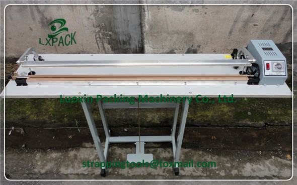 LX-PACK Brand Lowest Factory price Heat Sealers Hand Impulse Sealers Impulse Hand Sealer sealing width 24''-40 600-1000mm lx pack lowest factory price foot pedal impulse sealer heat sealing machine plastic bag sealer 300 1400mm pedal sealer