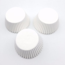 100 шт./лот чисто белые подкладки для кексов пищевой бумажный стаканчик торт выпечки чашки кексы кухонные капкейки формы для тортов