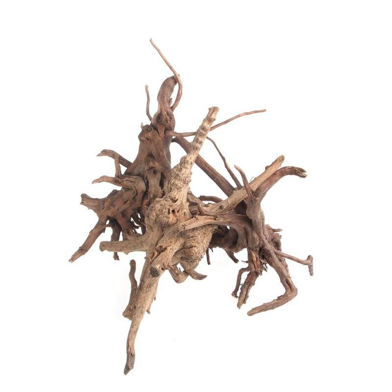 Aquarium Natürliche Holz Stamm Treibholz Baum Anlage Stumpf Aquarium Ornament Dekor