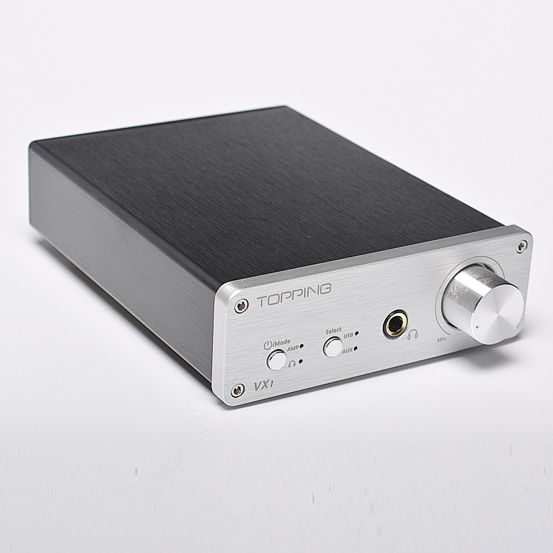 Topping VX1 2*25W T-AMP Tripath Stereo HiFi Power Subwoofer Amplifier USB DAC 24Bit/96KHz Digital audio Amplifier радиоприемник 25 hifi 25w