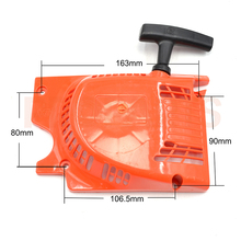 5200 5800 Chinese Chainsaw One Spring Recoil Starter Assy