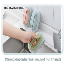 Melamine strong decontamination bathtub brush magic sponge ceramic tile brush kitchen utensils washing pan cleaning brush sponge