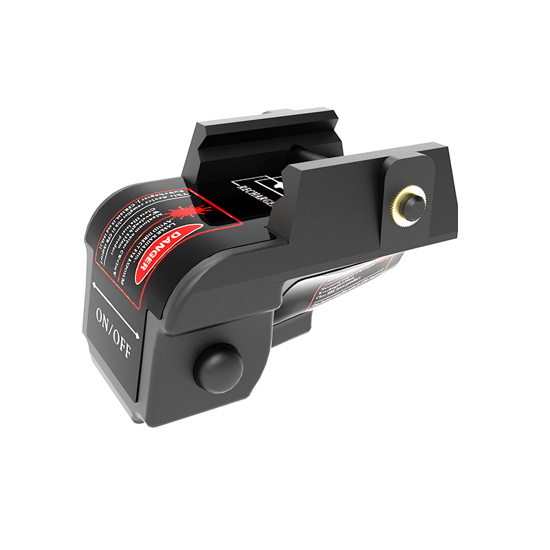 Tactical rechargeable green handgun laser sight for pistol 9mm glock sight laser scope for Walther PPQ Beretta PX4 subcompact-3