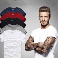 Top Quality Men S Short Sleeve 100 Cotton T Shirt Men 2016 Summer AFS Brand Shirts
