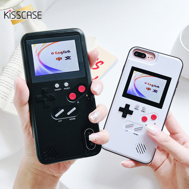 the best attitude 88347 0c53b US $15.24 39% OFF|KISSCASE Retro Game Phone Case For iPhone 7 8 6s Plus  Classic Color Screen 36 Games Case For iPhone X 10 XS Max XR Cover Fundas  -in ...