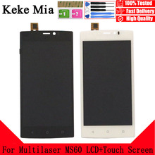 Keke Mia 5.5 For Multilaser MS60 LCD Display+Touch Screen 100% Original Tested Digitizer Glass Panel Replacement