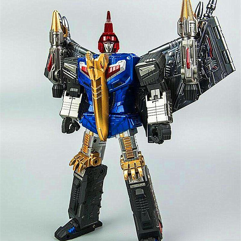 Gigapower GP HQ-05R gaudenteur Swoop bleu Chrome Version Transformation figurine
